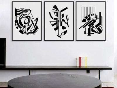 Modern-Minimalist-Nordic-Black-White-Symbol-A4-Large-Art-Prints-Poster-Abstract-Wall-Picture-Canvas-Painting.jpg_640x640