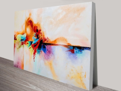 wall art canvas print Best of Genesis Abstract Painting Print on Canvas Canvas Prints